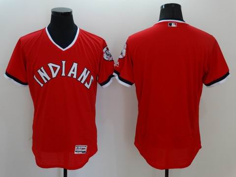 MLB Cleveland Indians blank red flexbase jersey