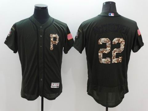 MLB Pittsburgh Pirates #22 Andrew McCUTCHEN green flexbase jersey