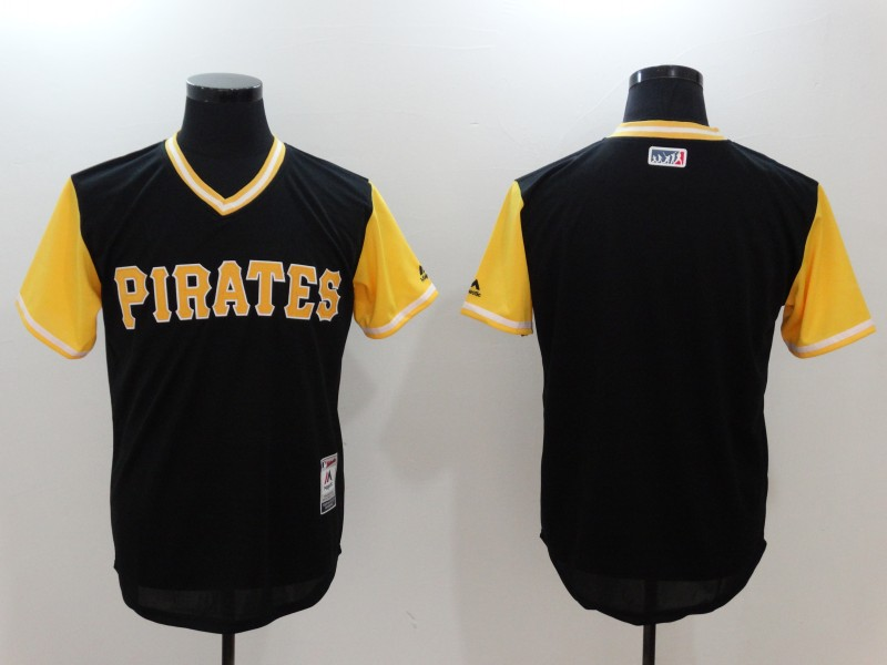 MLB Pittsburgh Pirates blank black jersey