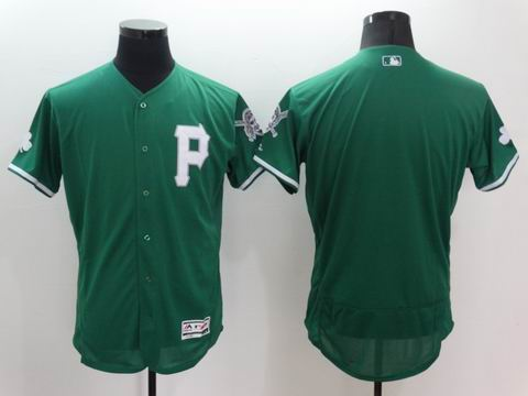 MLB Pittsburgh Pirates blank green flexbase jersey