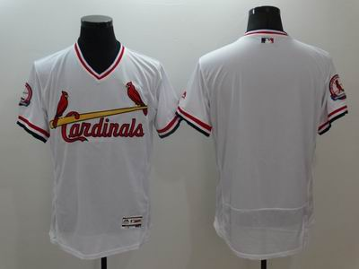 MLB St.Louis Cardinals blank white flexbase jersey