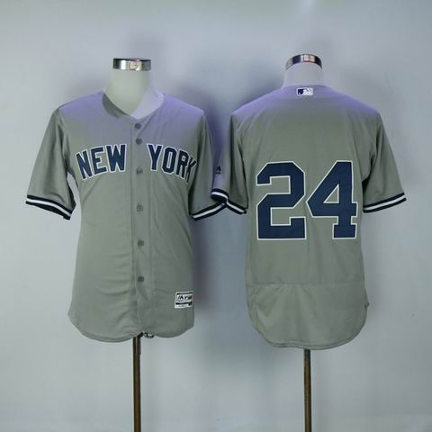 MLB Yankees #24 Sanchez grey flexbase jersey