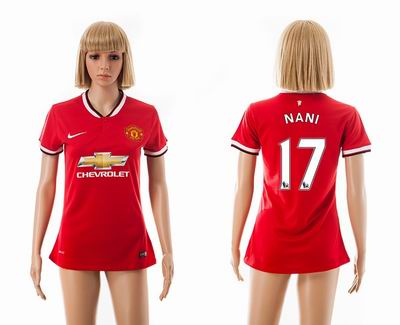 Manchester united home Women 17#