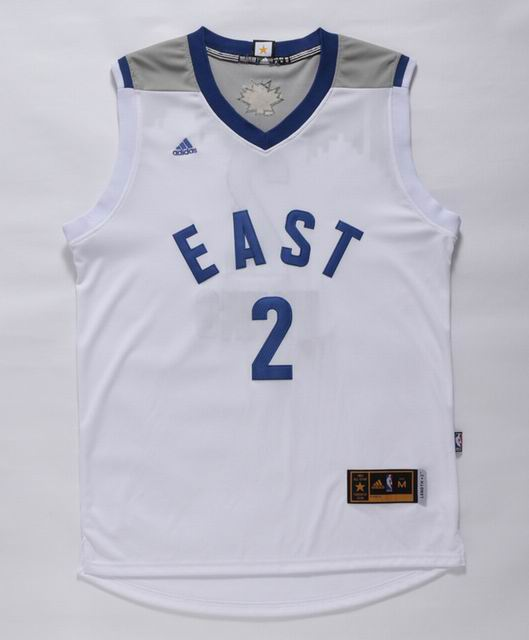 NBA 15-16 All Star jersey #2 Irving white