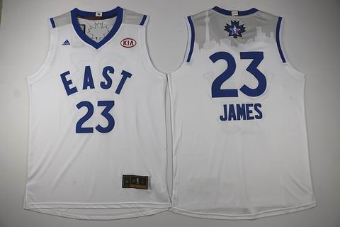 NBA 15-16 All Star jersey #23 James white