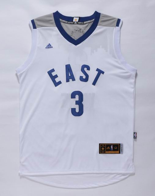 NBA 15-16 All Star jersey #3 Wade white