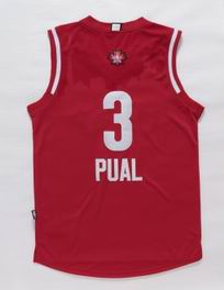 NBA 15-16 All Star jersey #3 paul red