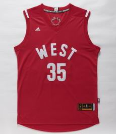 NBA 15-16 All Star jersey #35 Durant red