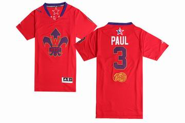 NBA 2014 All star game West jersey 3 Paul