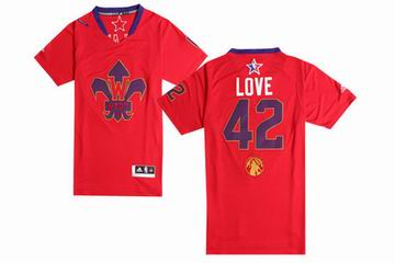 NBA 2014 All star game West jersey 42 Love