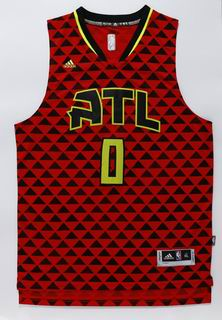 NBA Atlanta Hawks 0 Teague red jersey