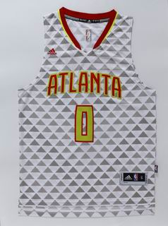 NBA Atlanta Hawks 0 Teague white jersey