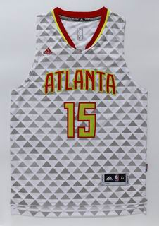 NBA Atlanta Hawks 15 Horford white jersey