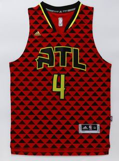 NBA Atlanta Hawks 4 Millsap red jersey