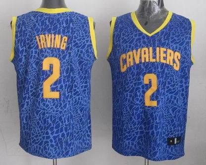 NBA Cavaliers 2 Irving crazy light jersey