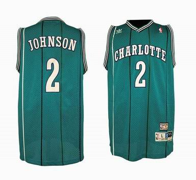 NBA Charlotte Hornets 2 Larry Johnson jersey