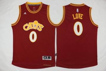 NBA Cleveland Cavaliers #0 LOVE red jersey