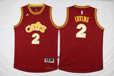 NBA Cleveland Cavaliers #2 Irving red jersey