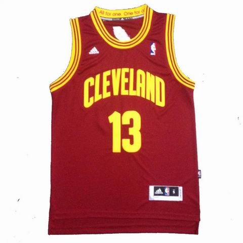 NBA Cleveland Cavaliers 13 Thompson red jersey