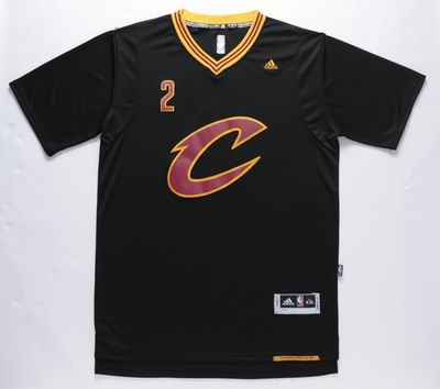 NBA Cleveland Cavaliers 2 Irving black jersey