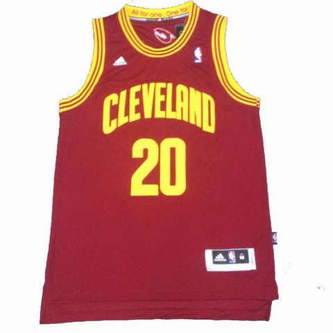 NBA Cleveland Cavaliers 20 Mozgov red jersey