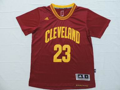 NBA Cleveland Cavaliers 23 James red jersey