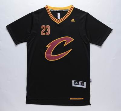 NBA Cleveland Cavaliers 23 lebron James black jersey