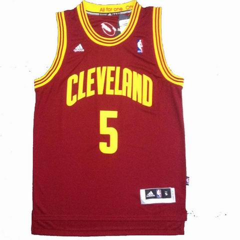 NBA Cleveland Cavaliers 5 Smith red jersey