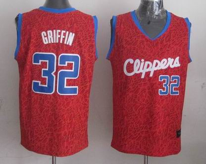NBA Clippers 32 Griffin crazy light jersey