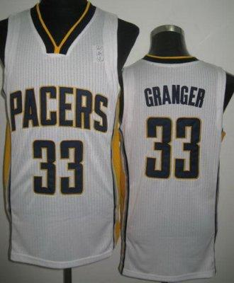 NBA Indiana Pacers 33# Danny Granger White Revolution 30 Jersey