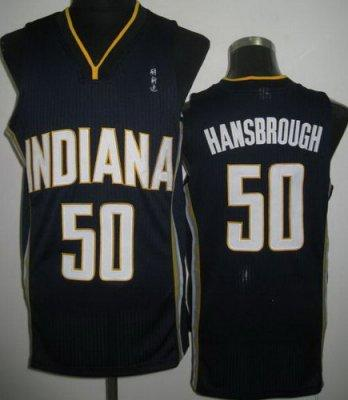 NBA Indiana Pacers 50 Tyler Hansbrough Blue Revolution 30 Jersey