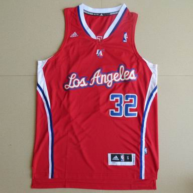 NBA Los Angeles Clippers #32 Blake Griffin Red Jersey revolution 30