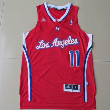 NBA Los Angeles Clippers 11 Crawford red Jersey new Revolution 30
