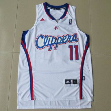 NBA Los Angeles Clippers 11 Crawford white Jersey new Revolution 30