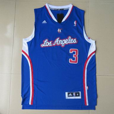 NBA Los Angeles Clippers 3 Chris Paul blue Jersey Revolution 30