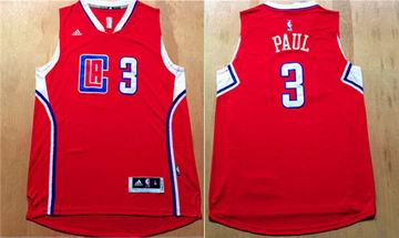 NBA Los Angeles Clippers 3 Chris Paul red Jersey