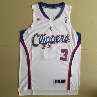 NBA Los Angeles Clippers 3 Chris Paul white Jersey Revolution 30
