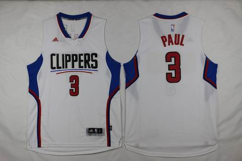 NBA Los Angeles Clippers 3 Paul white Jersey