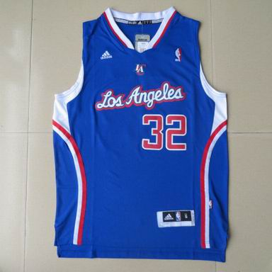 NBA Los Angeles Clippers 32 Blake Griffin blue Jersey Revolution 30