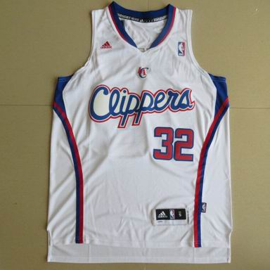 NBA Los Angeles Clippers 32 Blake Griffin white Jersey Revolution 30