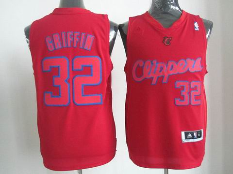 NBA Los Angeles Clippers 32 Griffin Christmas Day Jersey