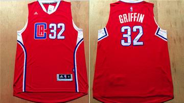 NBA Los Angeles Clippers 32 Griffin red Jersey