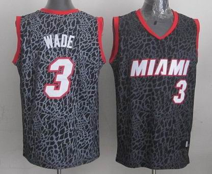 NBA Miami Heats 3 Wade crazy light jersey