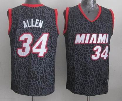 NBA Miami Heats 34 Allen crazy light jersey