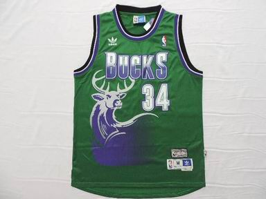 NBA Milwaukee Bucks 34 Allen green jersey