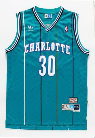 NBA New Orleans Hornets 30 Curry blue jersey