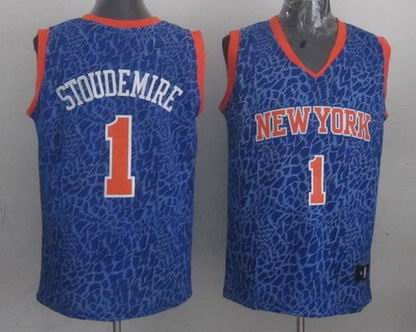 NBA New York Nicks 1 Stoudemire crazy light jersey