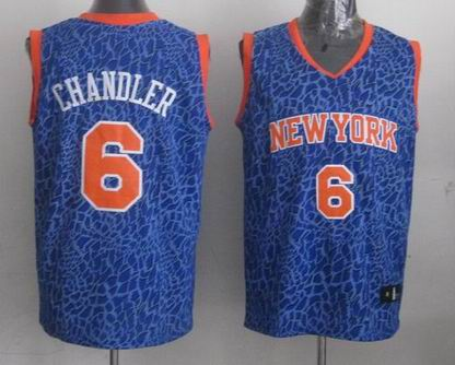 NBA New York Nicks 6 Chandler crazy light jersey