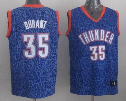 NBA Thunder 35# Durant crazy light jersey