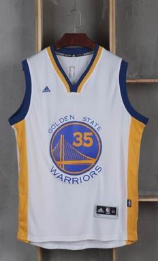 NBA golden state warriors #35 kevin durant white jersey